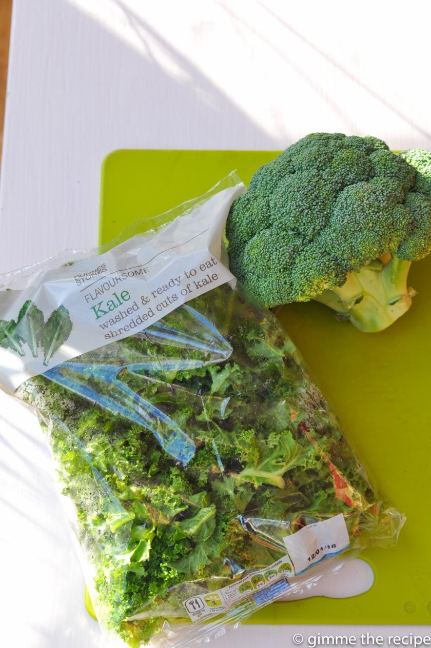 kale and brocoli