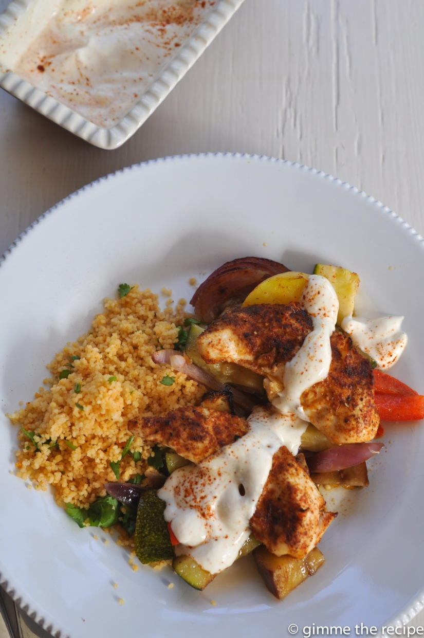 Berbere baked chicken