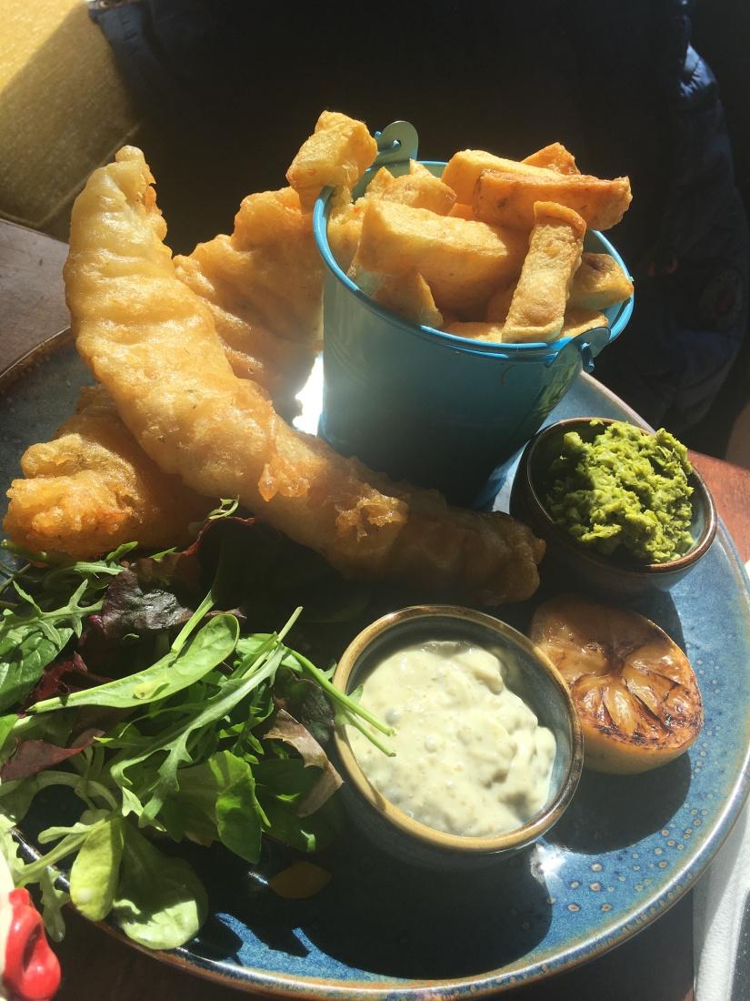 Fish & Chips at Sammys