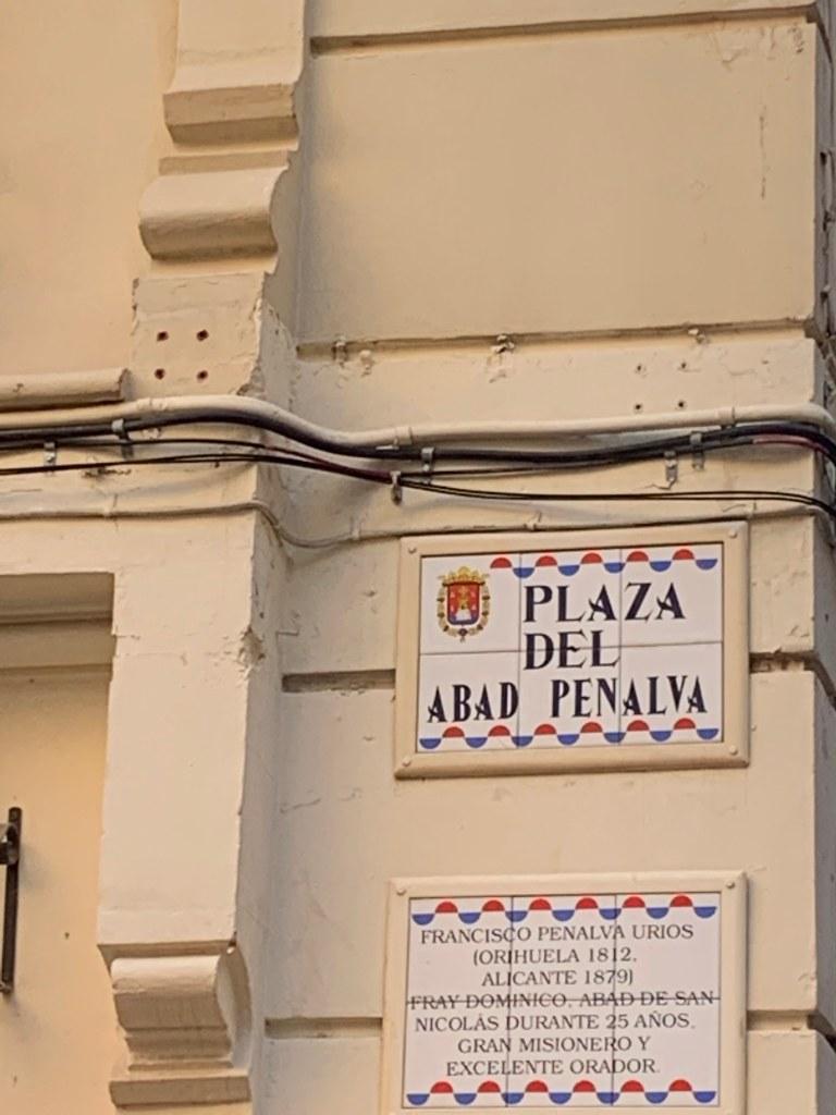 Plaza Del Abad Penalva