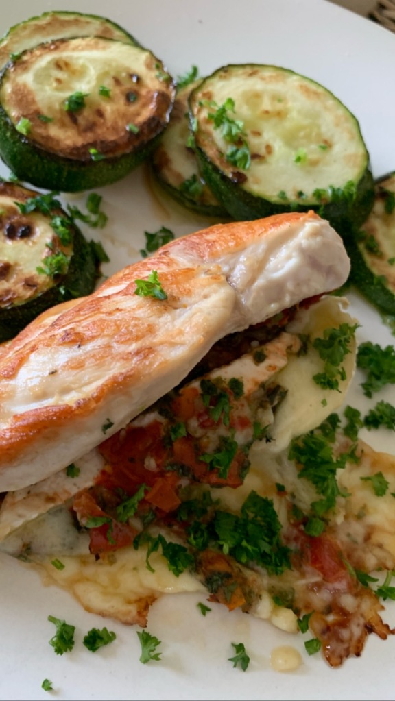 brie stuffed chicken